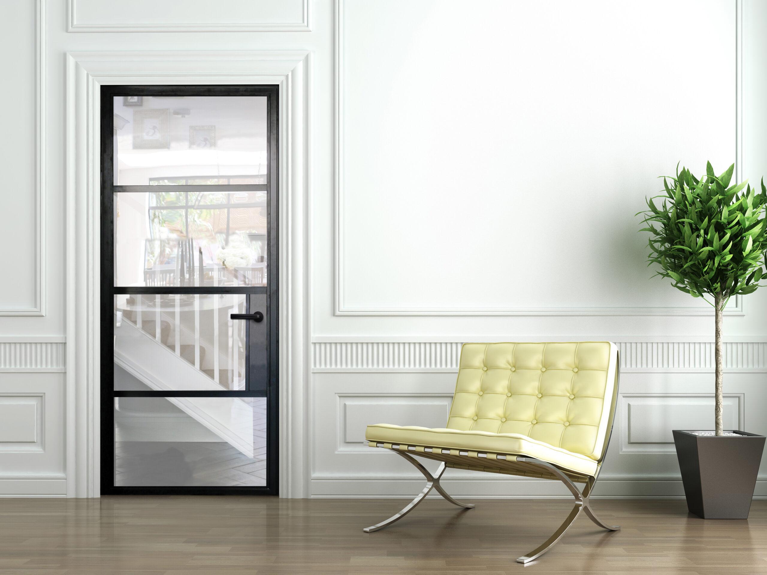 steel look aluminium doors wiltshire