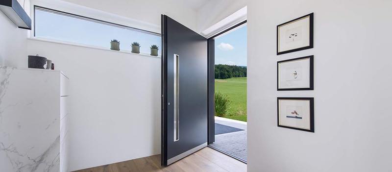 internorm aluminium entrance door