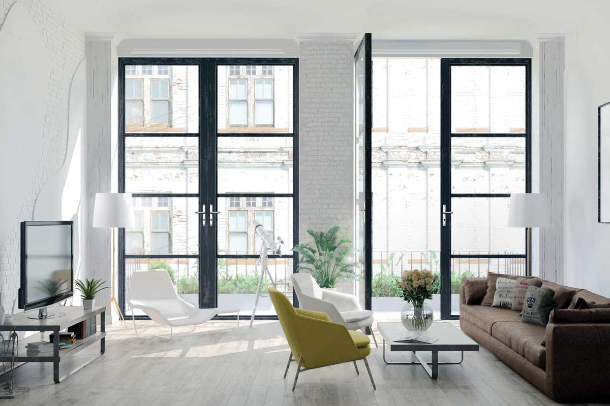 modern aluminium doors wiltshire