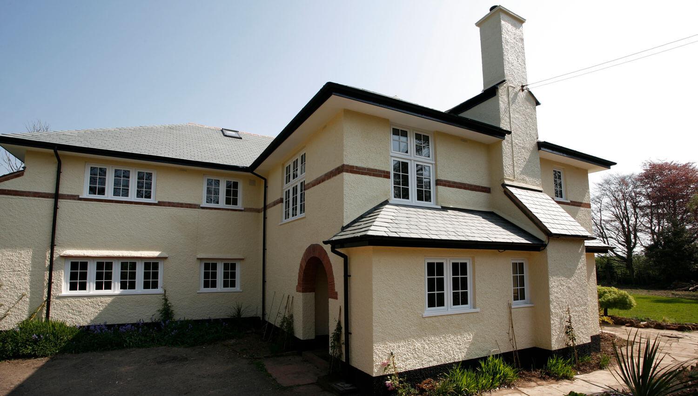 modern aluminium windows wiltshire