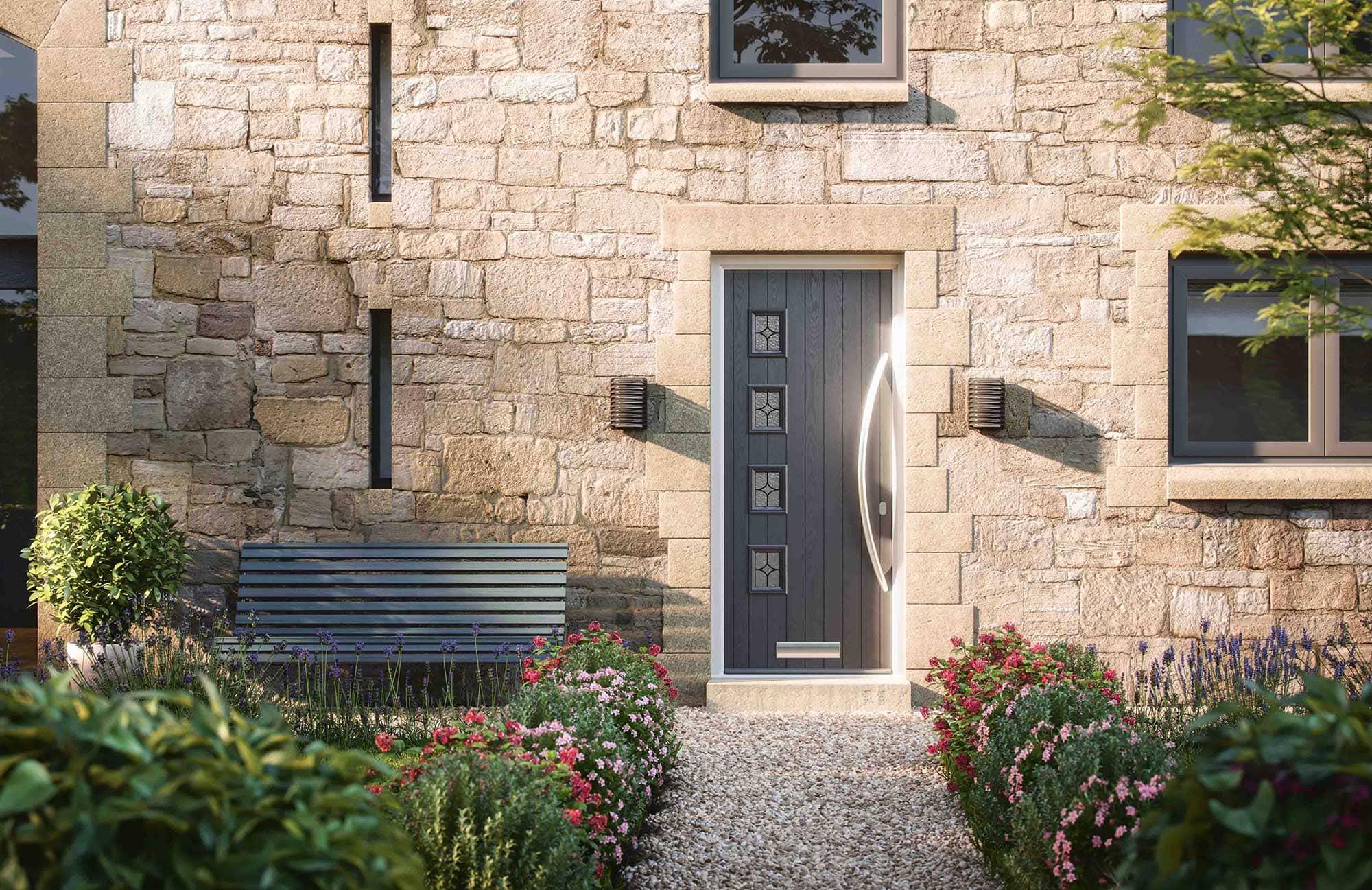residential aluminium door