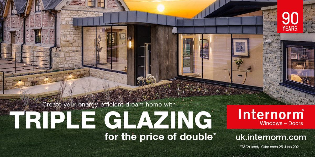 Triple Glazing for the Price of Double