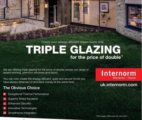 Internorm - Triple Glazing Offer